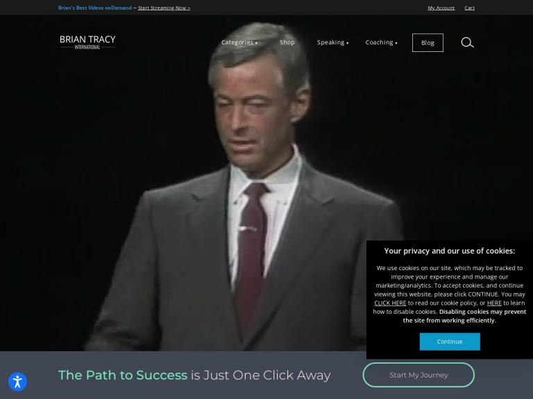 Brian Tracy screenshot