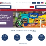 Up to 70% off sale at British Corner Shop