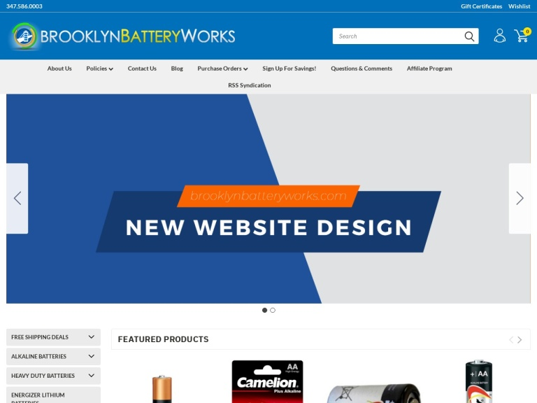Brooklyn Battery Works Coupon Codes