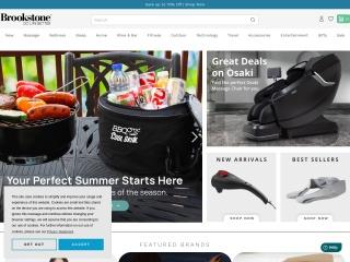Screenshot for brookstone.com