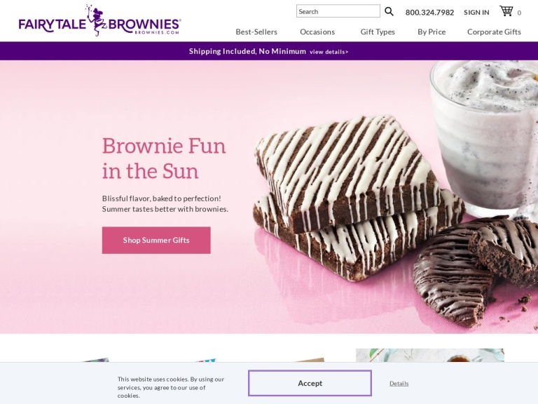 Fairytale Brownies Coupon Codes
