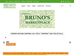 Welcome to Bruno's Marketplace - the Gourmet Flavors of