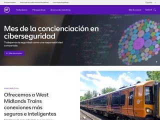 Captura de pantalla para bt.es