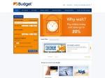 Budget Rent-a-car Continental Europe Coupons
