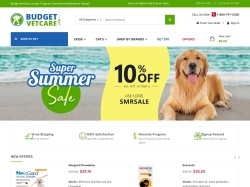 budgetvetcare.com screenshot
