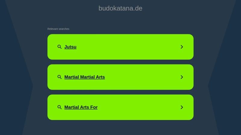 www.budokatana.de Vorschau, Bukata-Sport, Andreas Jaworek