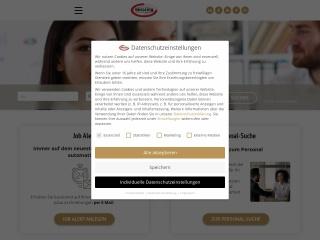 Screenshot der Website bueroring.at