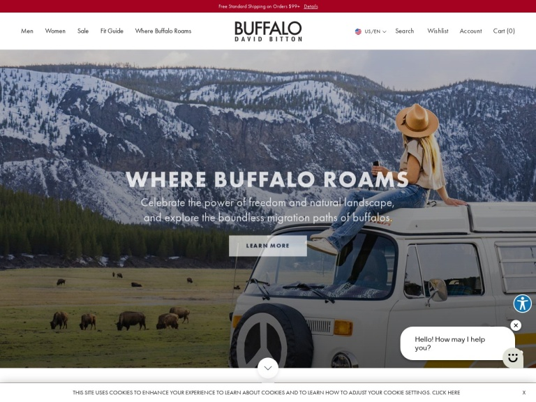 Buffalo David Bitton screenshot