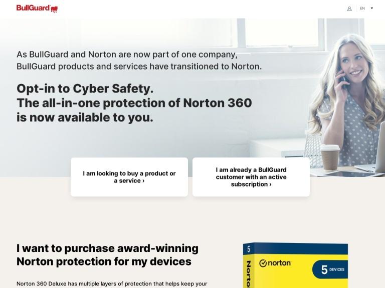 Bullguard Coupon Code & Discount Codes screenshot