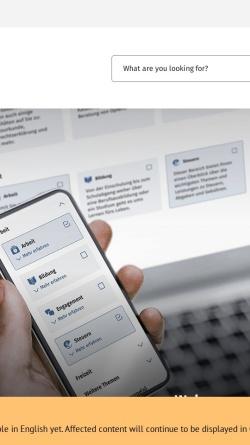 Vorschau der mobilen Webseite www.bundesrepublik.org, Bundesrepublik.org - Deutschland von Bürger zu Bürger