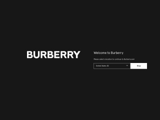 Screenshot para sa burberry.com