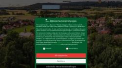 www.burgellern.de Vorschau, Hotel Restaurant Schloss Burgellern