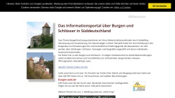 www.burgen-web.de Vorschau, Burgen-Web.de