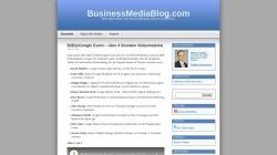 www.businessmediablog.com Vorschau, BusinessMediaBlog.com
