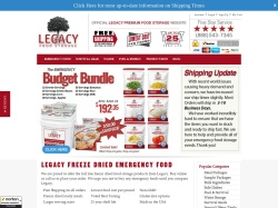 Buy Emergency Foods screenshot