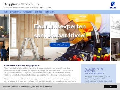 byggfirmastockholm.biz