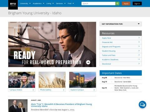 Scholarship of Learning and Teaching at BYU–Idaho