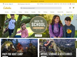 Cabelas screenshot