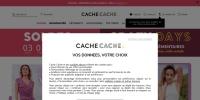 Code promo Cache Cache et bon de réduction Cache Cache