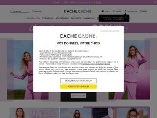 Capture d'écran pour cache-cache.fr