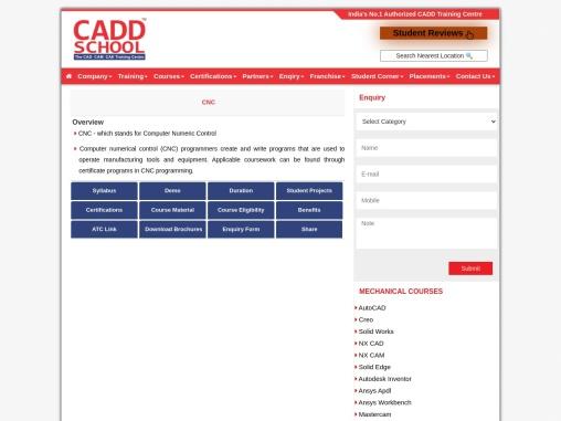 cadd training center Avadi | best cadd training in Avadi – CNC
