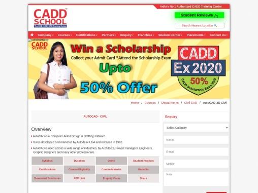 Civil 3D | Civil 3D training centre | Civil Engineering Software