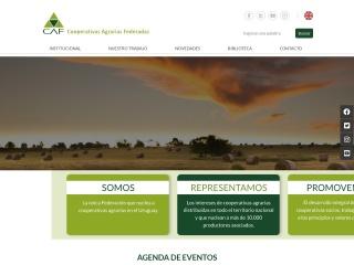 Captura de pantalla para caf.org.uy