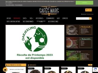Capture d'écran pour cafes-marc.fr