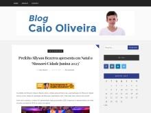 Blog Caio Oliveira