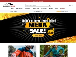 CambriaBike.com screenshot