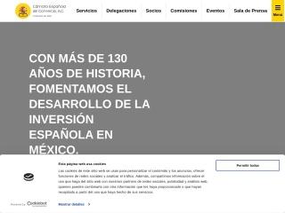 Captura de pantalla para camescom.com.mx