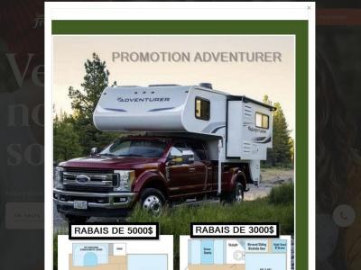Campeur Frédéric - Concessionnaire de roulottes