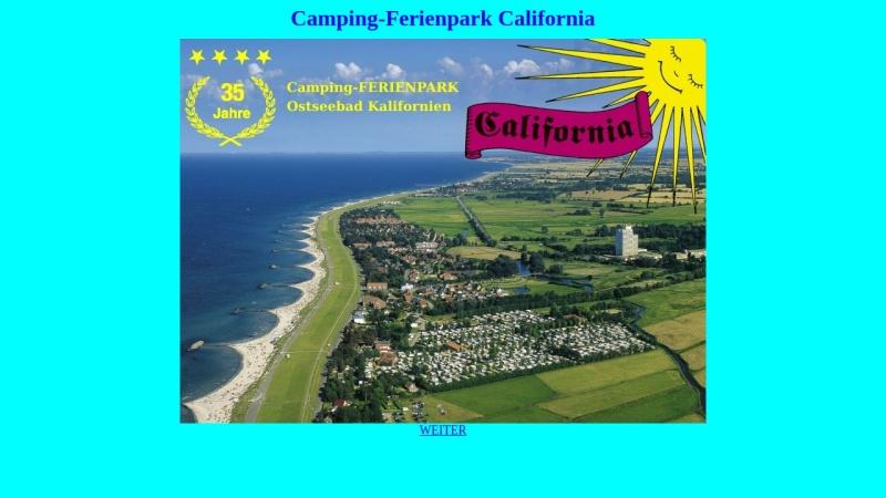 www.camping-california.de Vorschau, Camping-Ferienpark