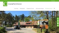 www.camping-ecktannen.de Vorschau, CampingPlatz Ecktannen am Müritz-Nationalpark