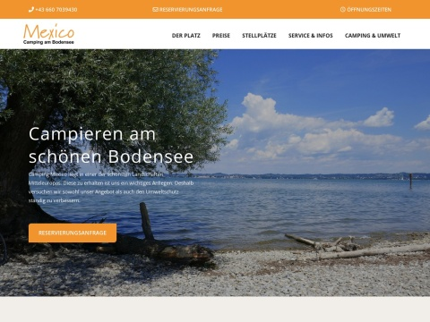 Bio-Campingplatz Mexico am Bodensee