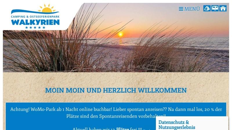 www.camping-walkyrien.de Vorschau, Camping Walkyrien, Heinrich Gosch