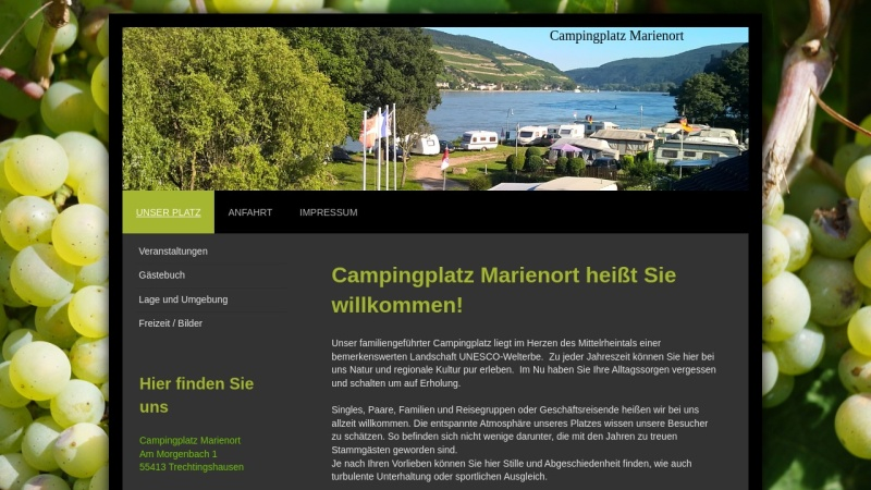 www.campingplatz-marienort.de Vorschau, Campingplatz - Marienort