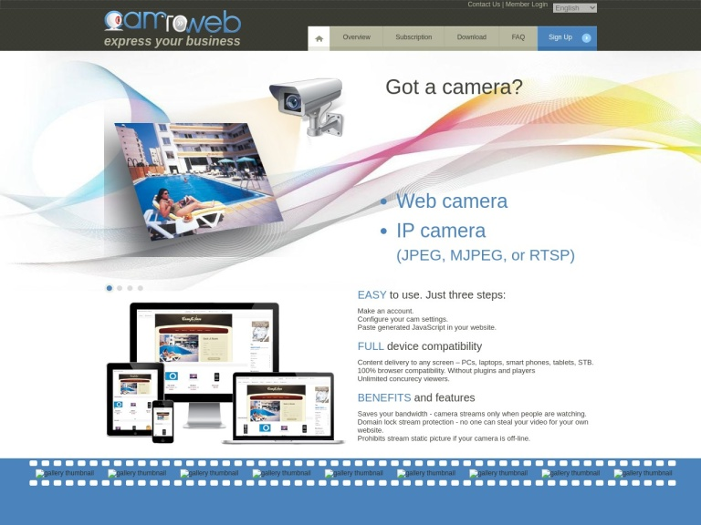 CamToWeb screenshot