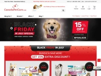 Canada Pet Care Fast Coupon & Promo Codes