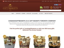 Canadas Gift Baskets screenshot