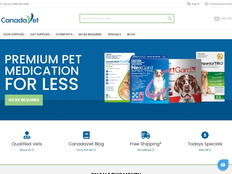 Canadavet Coupon Codes