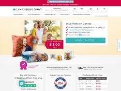 Canvasdiscount.com screenshot