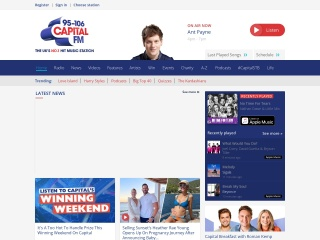 Screenshot for capitalinteractive.co.uk