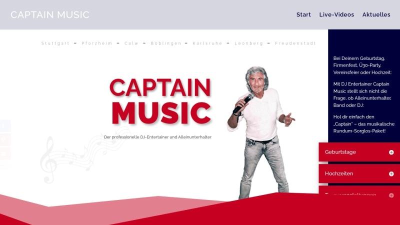 www.captain-music.de Vorschau, DJ Captain Music