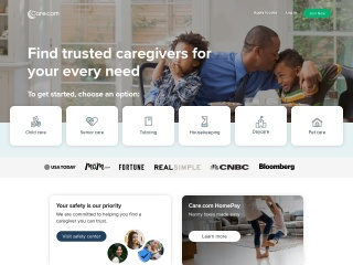Screenshot for care.com