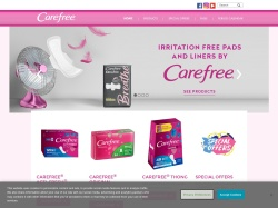 Carefree Pantyliners Promo Codes 2018