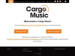 Captura de pantalla para cargomusic.es