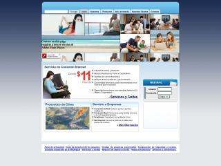 Captura de pantalla para caribe.net.mx