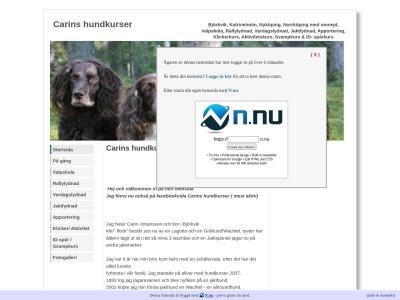 www.carinshundkurser.n.nu