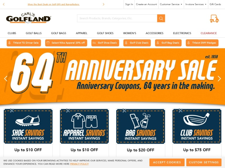 CARLSGOLFLAND.COM-CARLSGOLFLAND.COM- Golf Belts On Sale Starting at $11.99 at CarlsGolfland.com! No Coupon Code Needed!